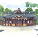 大国魂神社-東京